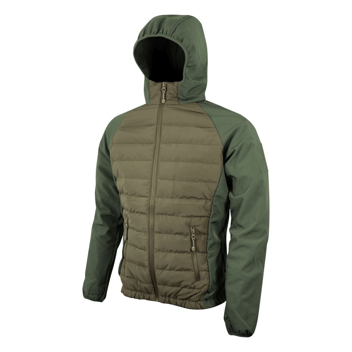 Bunda SNEAKER softshell/fleece ZELENÁ Viper® VJKTSNG L-11