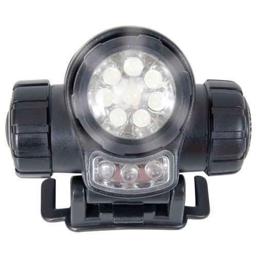 Svítilna čelová LED britská web-tex ČERNÁ