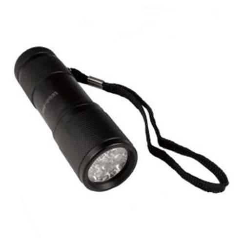 Svítilna 9 LEDs Warrior hliník ČERNÁ 9cm
