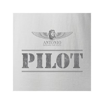 Triko PILOT BÍLÉ