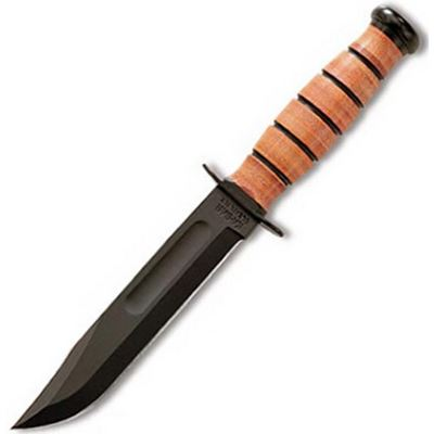 Nůž U.S.ARMY hladké ostří ČERNÝ