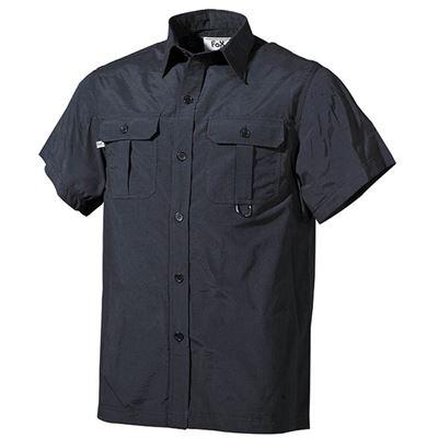 Košile OUTDOOR krátký rukáv ČERNÁ