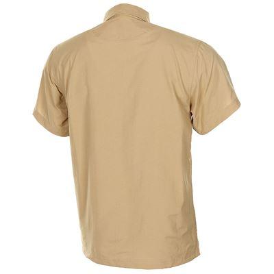Košile OUTDOOR krátký rukáv PÍSKOVÁ