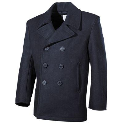 Kabát US  Pea Coat MODRÝ