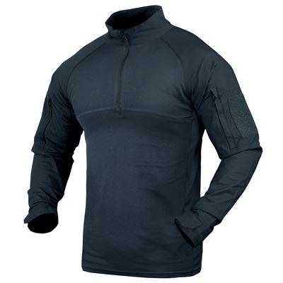 Košile taktická COMBAT se zipem MODRÁ