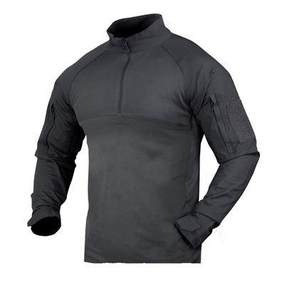 Košile taktická COMBAT se zipem GRAPHITE