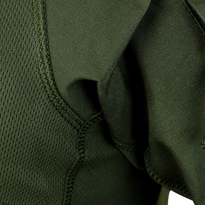 Košile taktická COMBAT krátký rukáv ZELENÁ