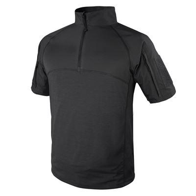Košile taktická COMBAT krátký rukáv ČERNÁ