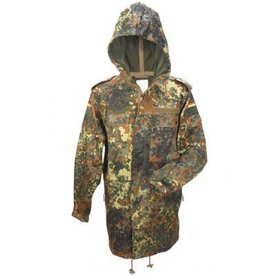 Bunda BW s kapucí a bez vložky FLECKTARN