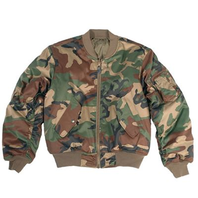 Bunda US MA1 bomber WOODLAND