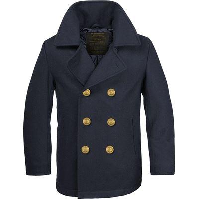 Kabát BW MARINE vlněný  NAVY