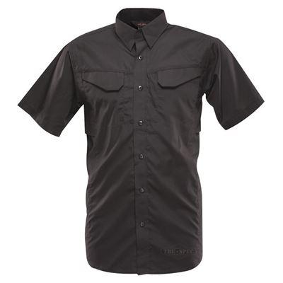 Košile 24-7 FIELD krátký rukáv rip-stop ČERNÁ