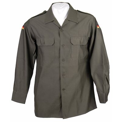 Košile BW polní ZELENÁ