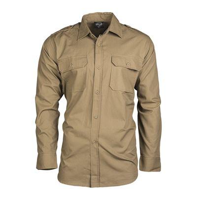 Košile polní na knoflíky rip-stop COYOTE