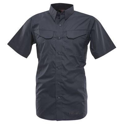 Košile 24-7 FIELD krátký rukáv rip-stop MODRÁ