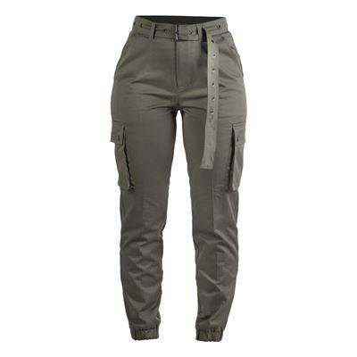 Kalhoty dámské ARMY ZELENÉ