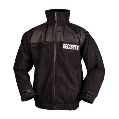 Bunda SECURITY fleece ČERNÁ