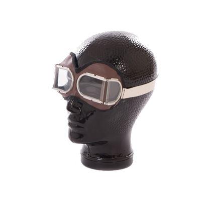 Brýle RUSKÉ na motorku dělená skla original nové