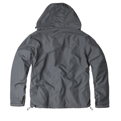Bunda WINDBREAKER ZIPPER ŠEDÁ