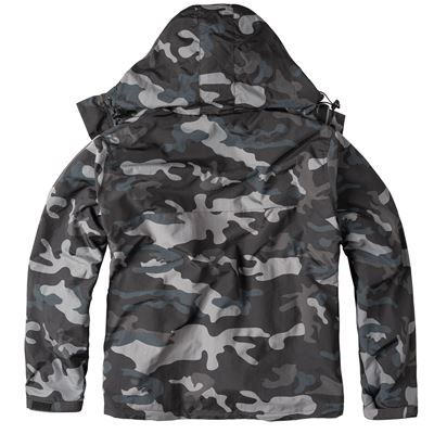 Bunda WINDBREAKER ZIPPER BLACK CAMO