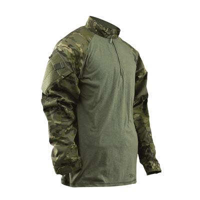 Košile taktická COMBAT TRU 1/4 ZIP MULTICAM TROPIC®