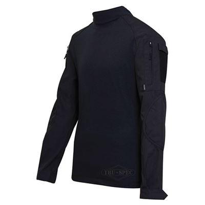 Košile taktická COMBAT rip-stop ČERNÁ