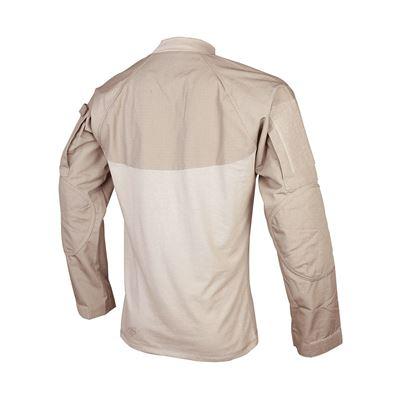 Košile taktická COMBAT rip-stop KHAKI