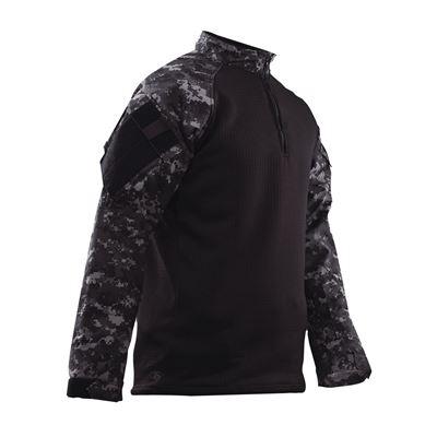 Košile taktická 1/4 zip COLD WEATHER DIGITAL URBAN