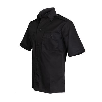 Košile služební krátký rukáv ČERNÁ