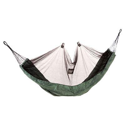 Síť spací s moskytiérou ZELENÁ