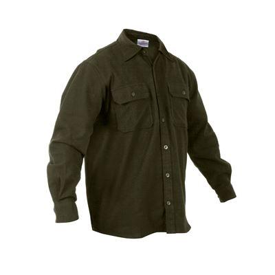 Košile dřevorubecká FLANNEL ZELENÁ
