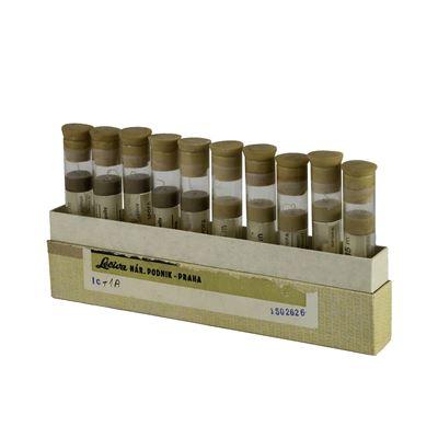 Hedvábí sterilní skané vlákno v konzervačním roztoku 10 rourek