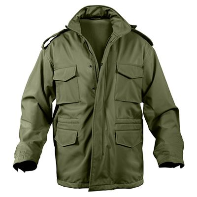 Bunda US M65 SOFTSHELL ZELENÁ