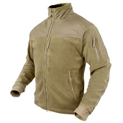 Bunda ALPHA MICRO FLEECE TAN