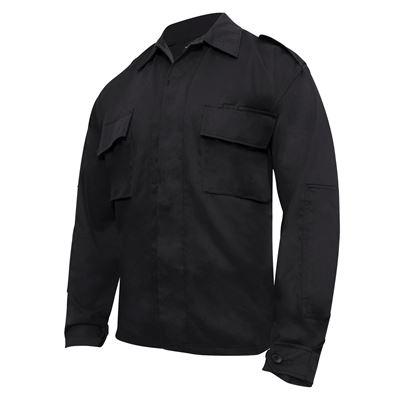 Košile taktická BDU dlouhý rukáv ČERNÁ