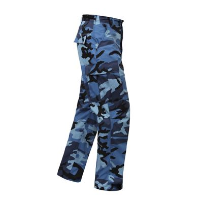 Kalhoty BDU SKY BLUE CAMO