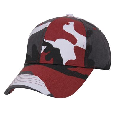 Čepice baseball Supreme Low RED CAMO