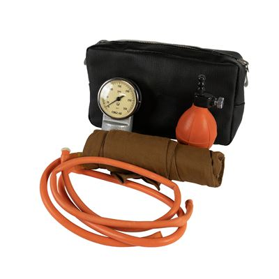 Měřič tlaku manometrický tlakoměr RETRO