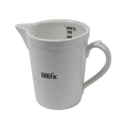 Odměrka porcelánová lékárénská 1000 ml