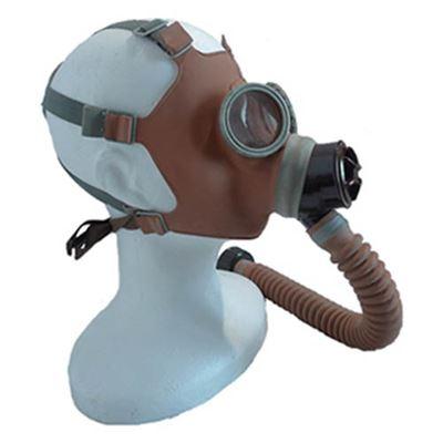 Maska plynová dětská s chobotem civilní typ ORANŽOVÁ