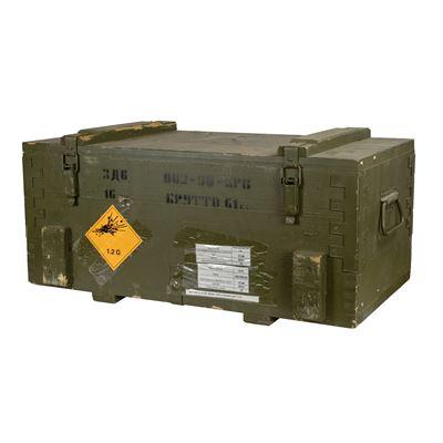 Bedna dřevěná od munice 3D6 použitá