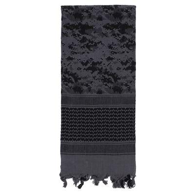Šátek SHEMAGH 107 x 107 cm DIGITAL URBAN