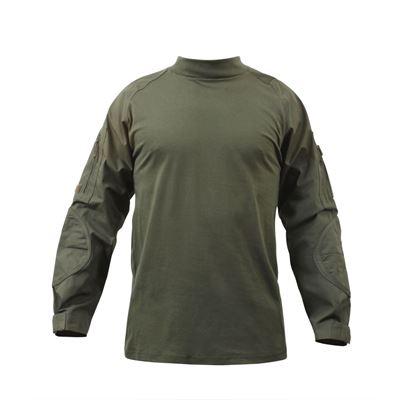 Košile COMBAT taktická ZELENÁ