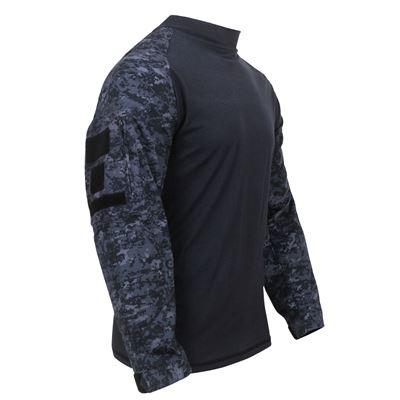 Košile COMBAT taktická MIDNIGHT DIGITAL