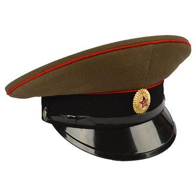 Brigadýrka RUSKÁ důstojnická ČERVENÁ