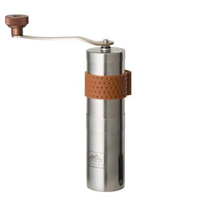 Mlýnek ruční CAMP na zrnkovou kávu NEREZ OCEL