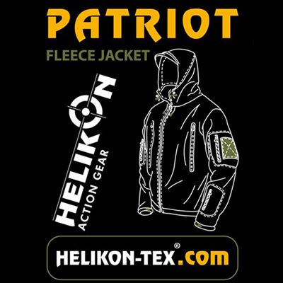 Bunda PATRIOT Heavy fleece SHADOW GREY