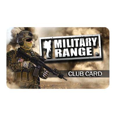 CLUB CARD MILITARY RANGE - tactical