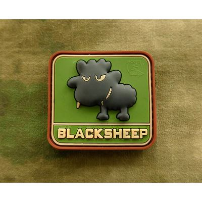 Nášivka LITTLE BLACKSHEEP plast MULTICAM