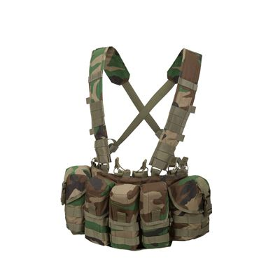 Vesta chest rig GUARDIAN Cordura® US WOODLAND